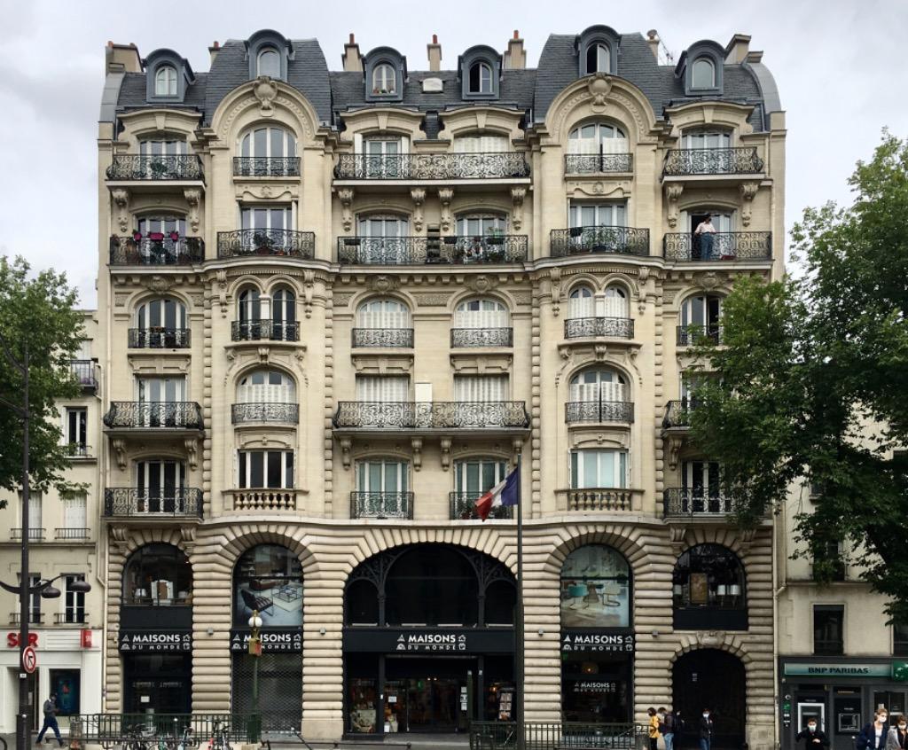 Vente appartement - 2 pièces de 39m2 - Métro Tolbiac