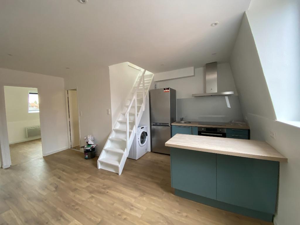 Location appartement 59130 Lambersart - T2 bis non meublé à louer rue Abbé Desplanques - Lambersart