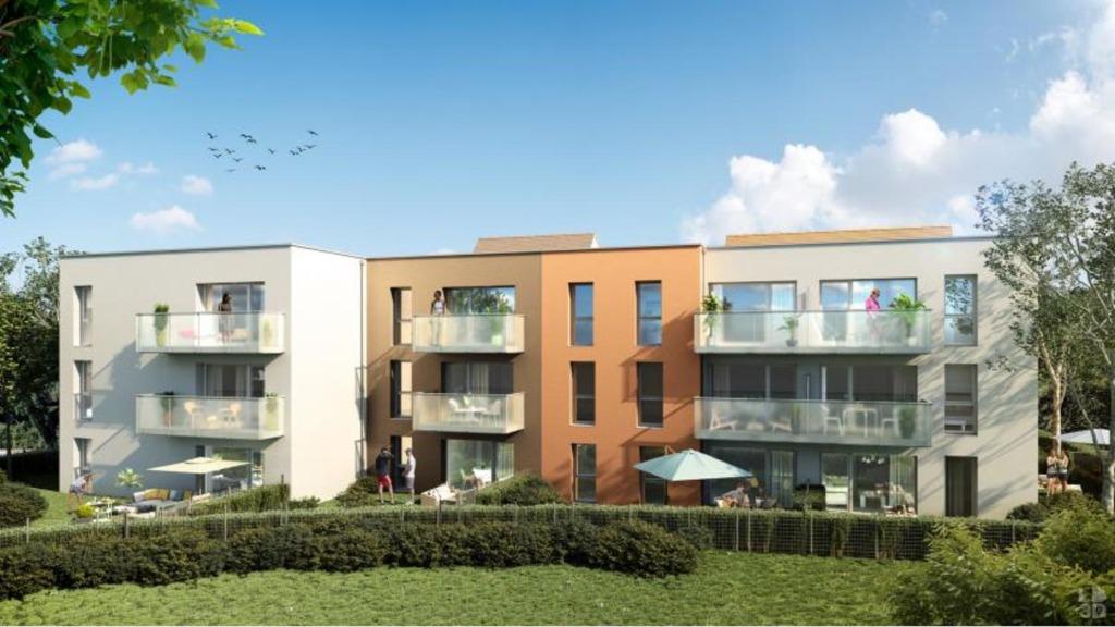 RONCQ - Appartement T2 avec parking et balcon ou jardin