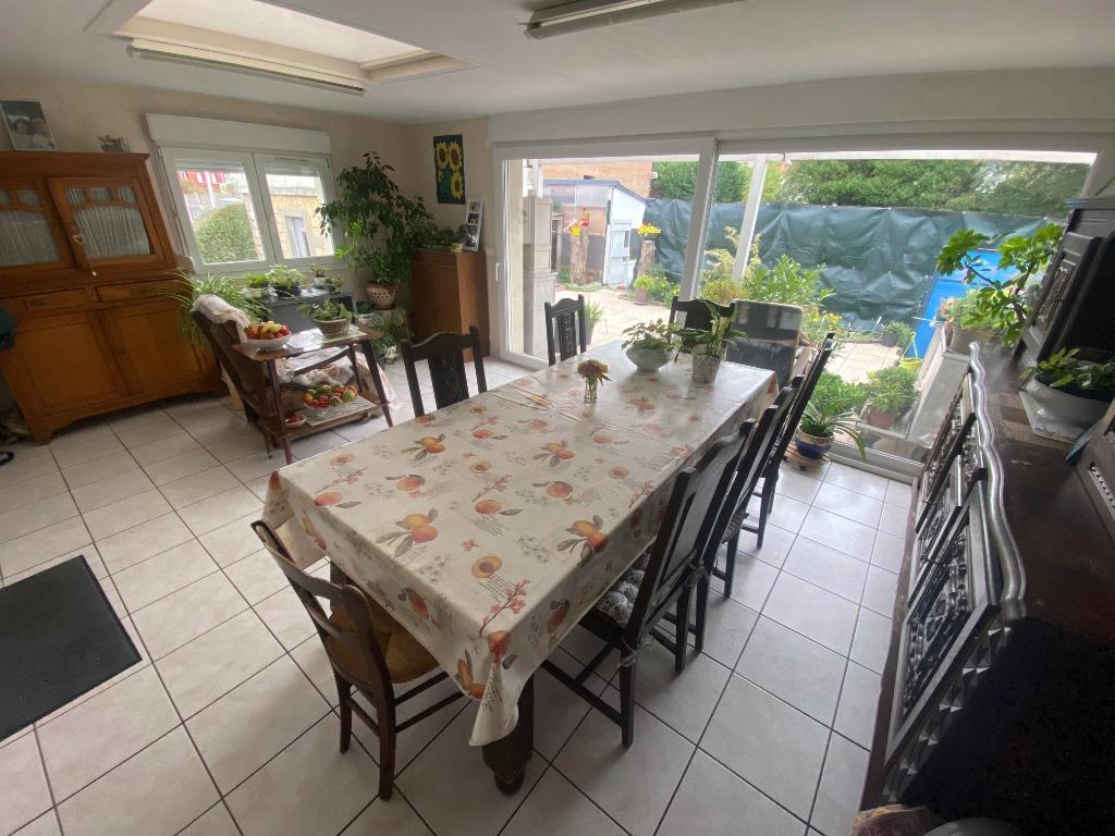 Vente maison 59790 Ronchin - RONCHIN-Maison 100m²-3 chambres-extérieur-garage