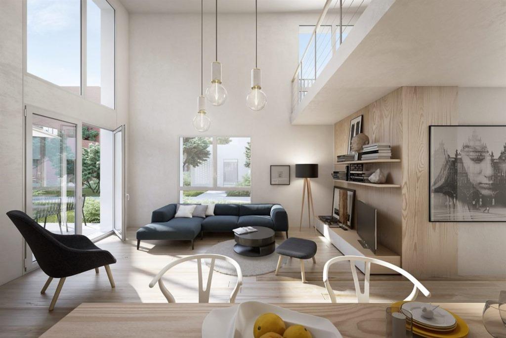 LOMME - T2 en duplex - 1 chambre, parking et terrasse