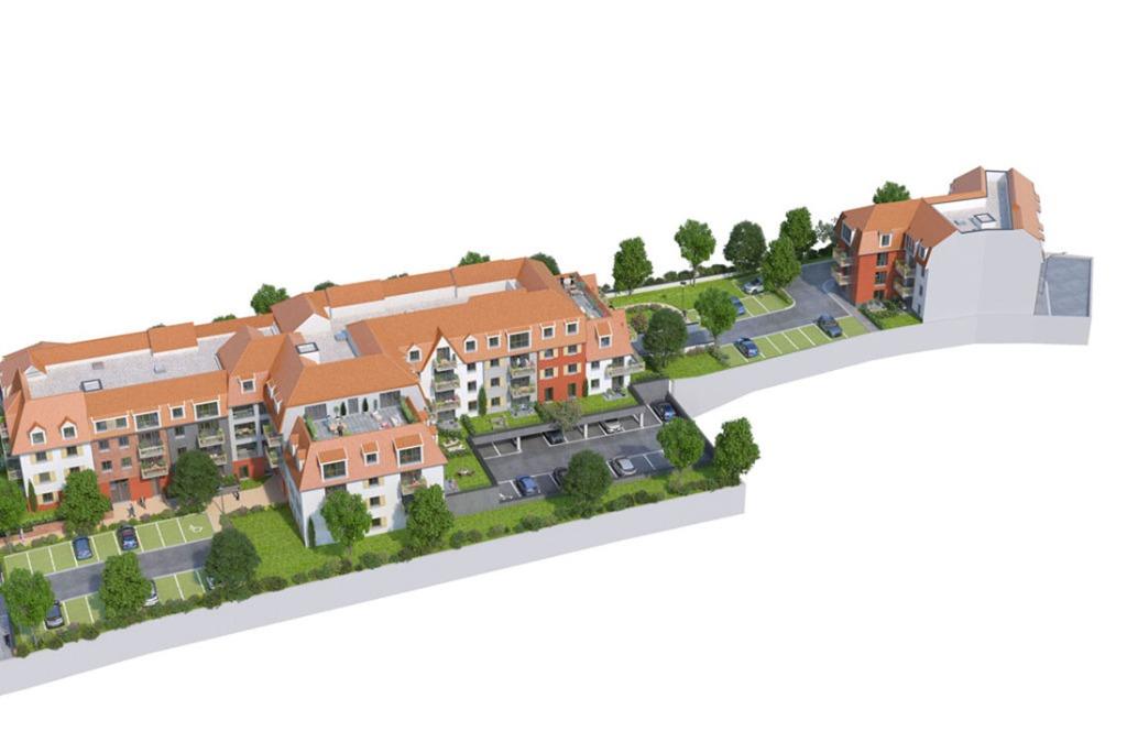 Vente appartement - LINSELLES - T4  78,81 m2 avec balcon et 2 parkings