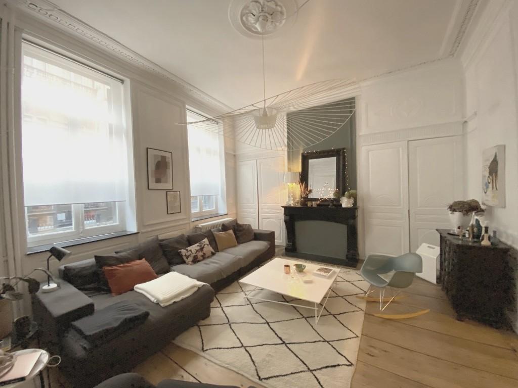 Vente appartement - Vieux Lille Appartement XVII ème avec extérieur et parking