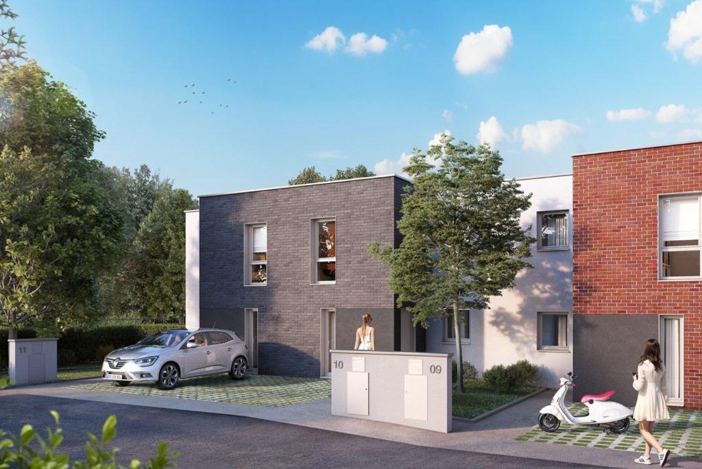 VALENCIENNES -  T4 - 3 ch balcon et parking