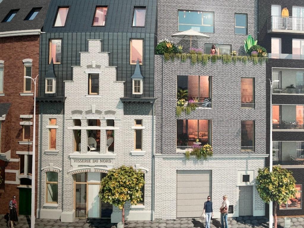 Vente maison - Lille, maison neuve individuelle 4 chambres jardin, parkings
