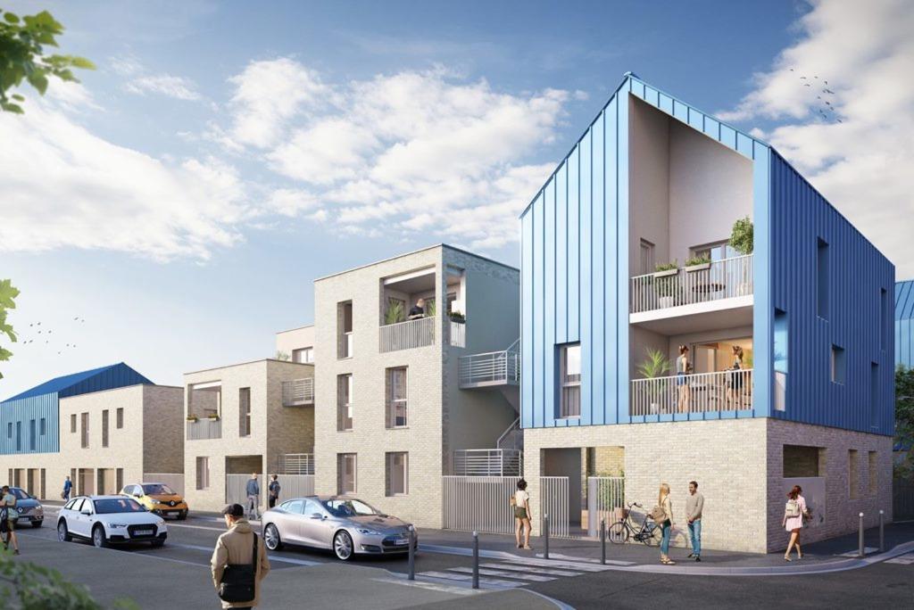 DUNKERQUE - T4 - 3 chambres, jardin et parking