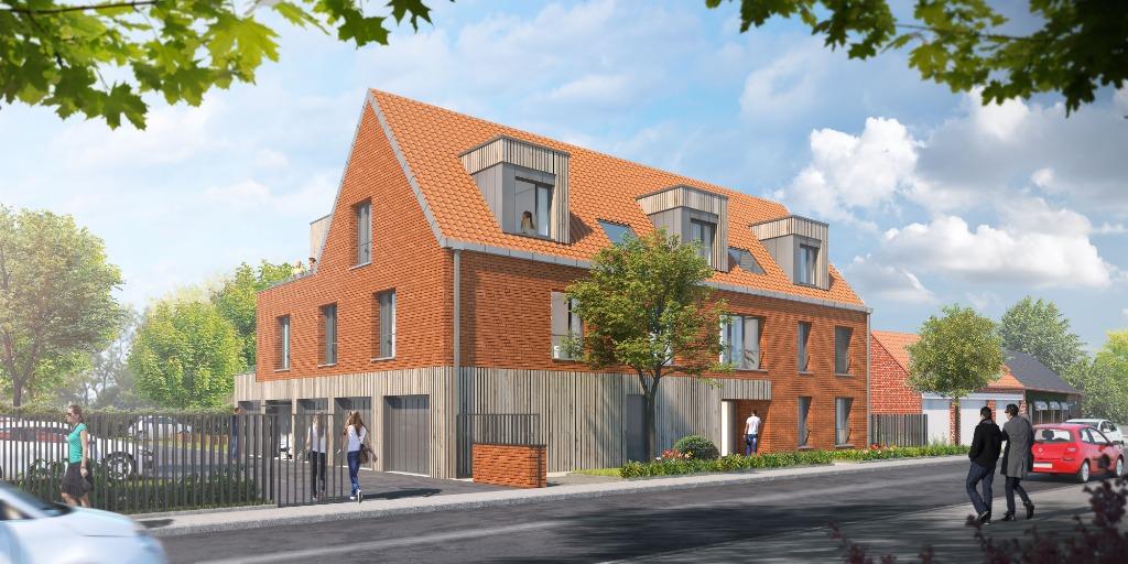 PREMESQUES - Appart T4 - 3 chb, terrasse, garage et parking