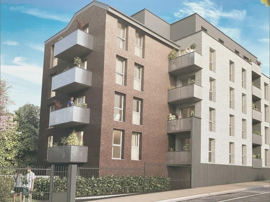 La Madeleine, T3 neuf balcon et parking