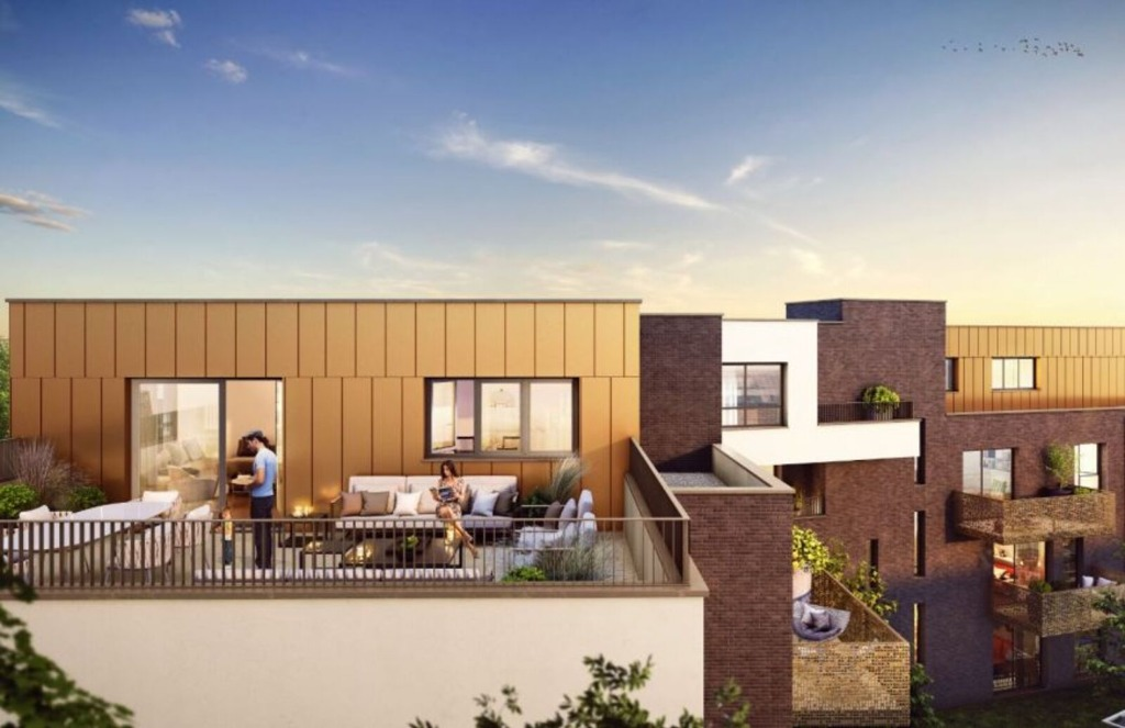 TOUFFLERS - Appartement T3 - 2 chambres, terrasse et parking