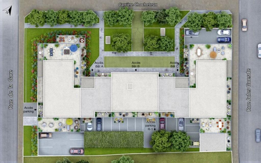 LYS LEZ LANNOY - Appartement T3 éligible Pinel