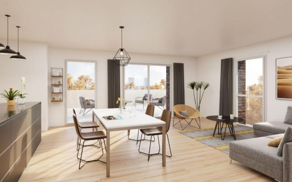 MONS EN BAROEUL - Appartement T3 éligible Pinel