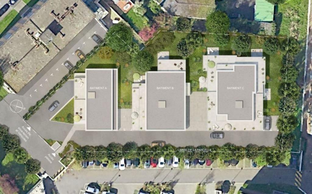 MONS EN BAROEUL - Appartement T2 éligible Pinel