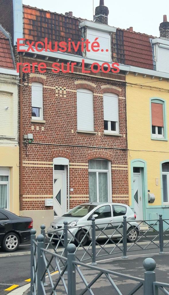 Vente maison 59120 Loos - EXCLUSIVITE! LOOS 1.5 KM CHR prox commodités Belle1930 4ch