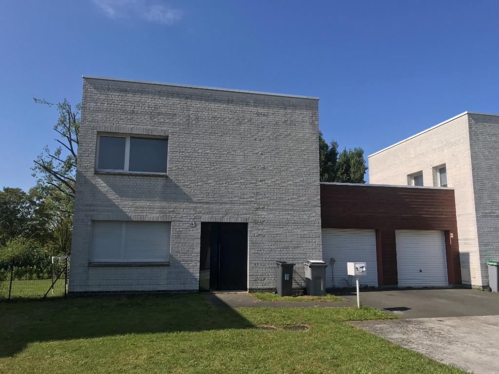 Vente maison - VILLENEUVE D'ASCQ - Maison 3 chambres, jardin et garage