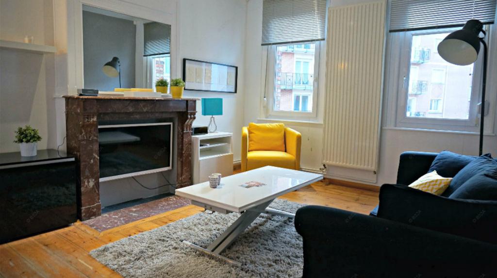 Vente appartement 59000 Lille - T2 40m2 cachet Hyper-centre