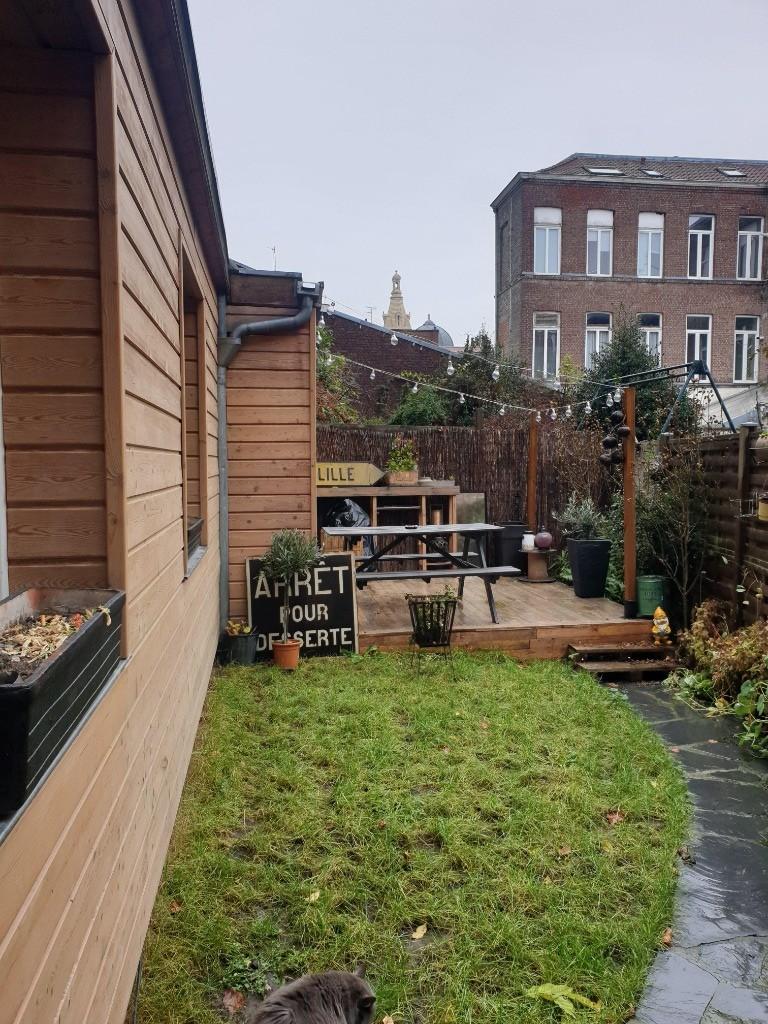 Vente appartement 59000 Lille - Type 2 avec jardin Lille