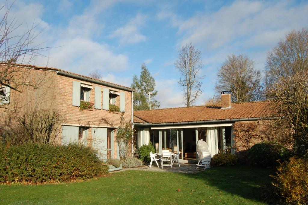 Vente maison 59650 Villeneuve d ascq - Exclusivité. Maison WATTEL 1er Rang Golf 5 chambres, bureau