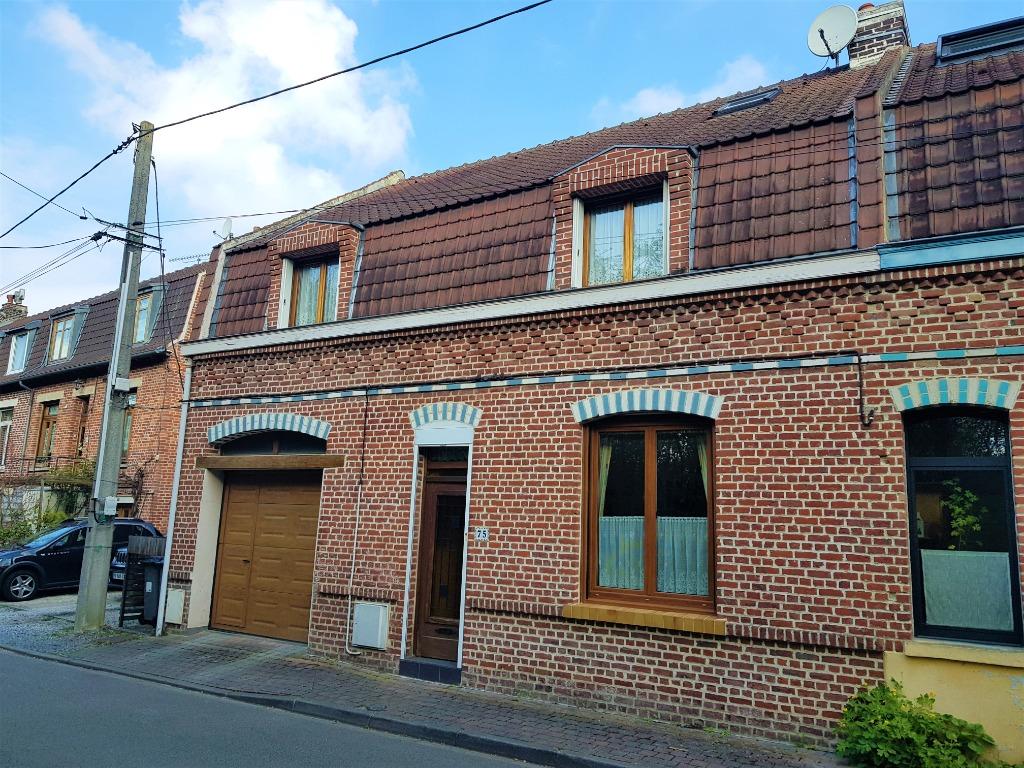 Vente maison - Maison semi-flamande de 140m²