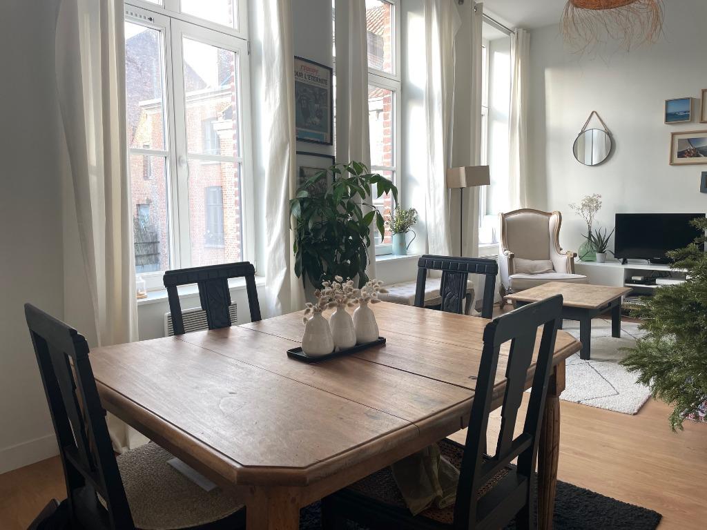 Location appartement - Superbe appartement type 2bis  à louer Vieux Lille