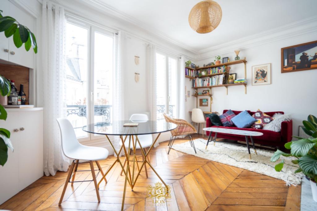 Vente appartement - Paris 10 - Bas 10ème - Charmant 2 pièces