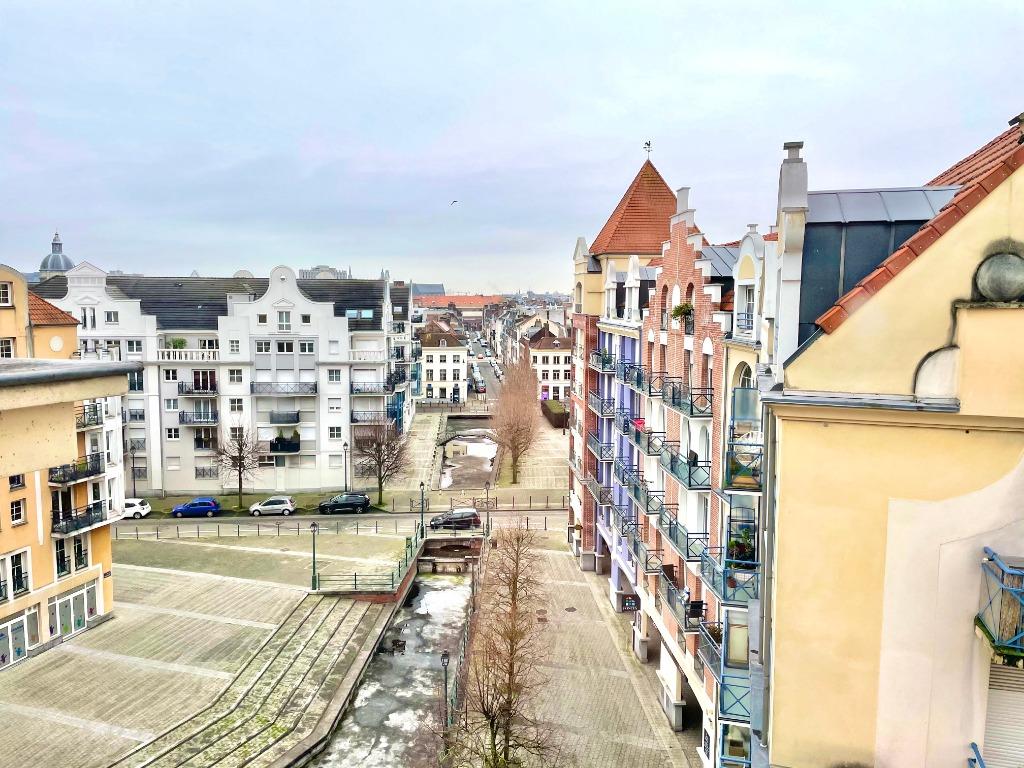 Vente appartement 59000 Lille - Vieux-Lille Dernier étage T3 garage / Balcons / Cave