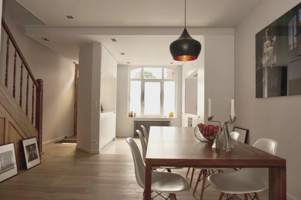Vente maison - Magnifique maison ancienne rénovée par architecte