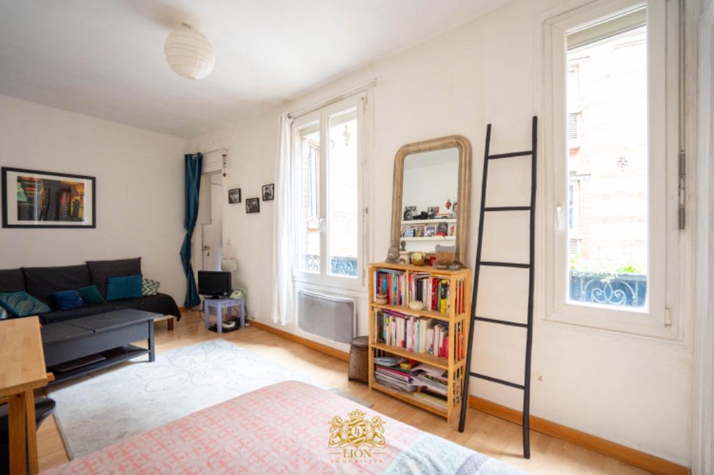 Vente appartement - Paris 17 - Les Batignolles - 2 pièces vendu loué