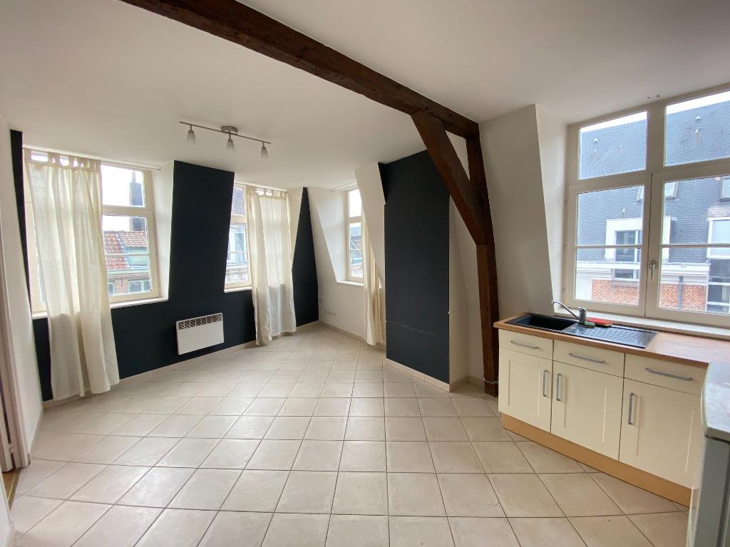 Vente appartement - Vieux Lille, rue de la Monnaie , T2 d'environ 35 m2
