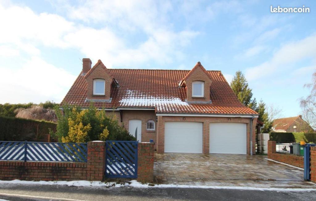 Vente maison 59112 Annoeullin - MAISON INDIVIDUELLE 4 CHAMBRES SECTEUR CALME ANNOEULLIN
