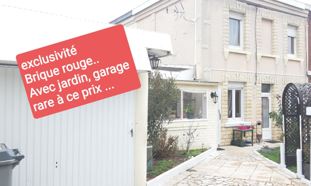 Vente maison 59320 Haubourdin - HAUBOURDIN. semi mitoyenne 2chambres jardin garage...