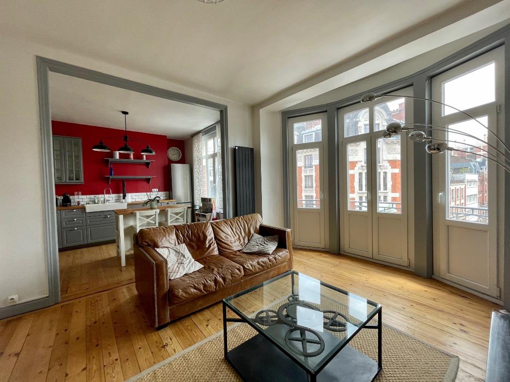 Vente appartement 59000 Lille - Hyper Centre Type 3 avec charme d'époque