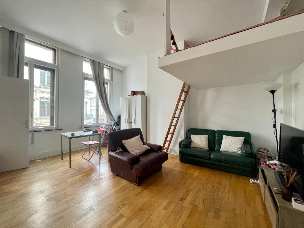 Vente appartement 59000 Lille - T1 bis Gambetta/République