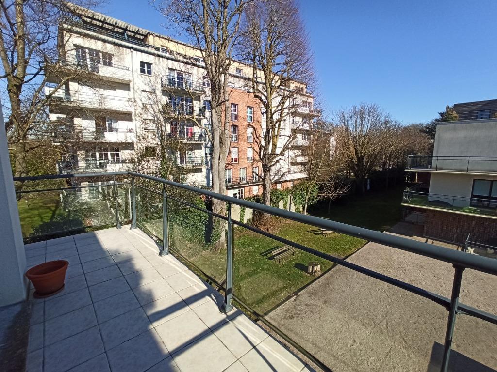 Vente appartement 59350 St andre lez lille - MAGNIFIQUE TYPE2 SITUE DANS UNE RESIDENCE ARBOREE