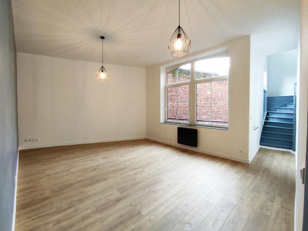 Vente appartement 59000 Lille - Lille Centre / République T4 en duplex dernier étage