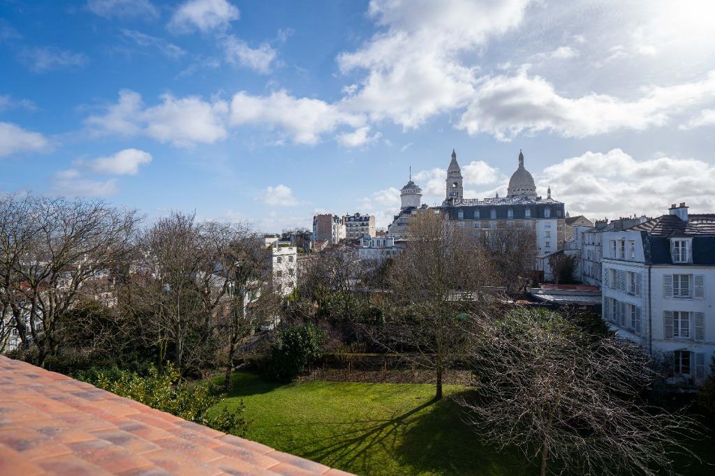 Vente appartement - Paris 18 - Village Montmartre - 2 pièces avec vue