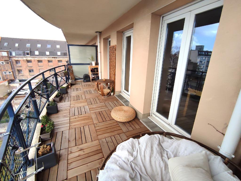 T3 Vieux Lille - Parking - Grande Terrasse ensoleillée