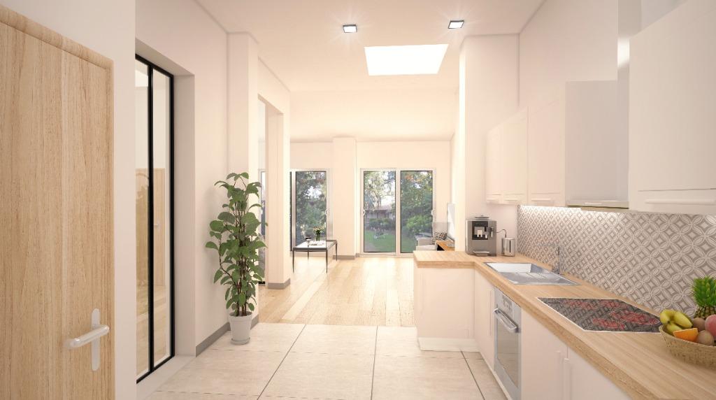 Vente appartement - Appartement T4 avec jardin