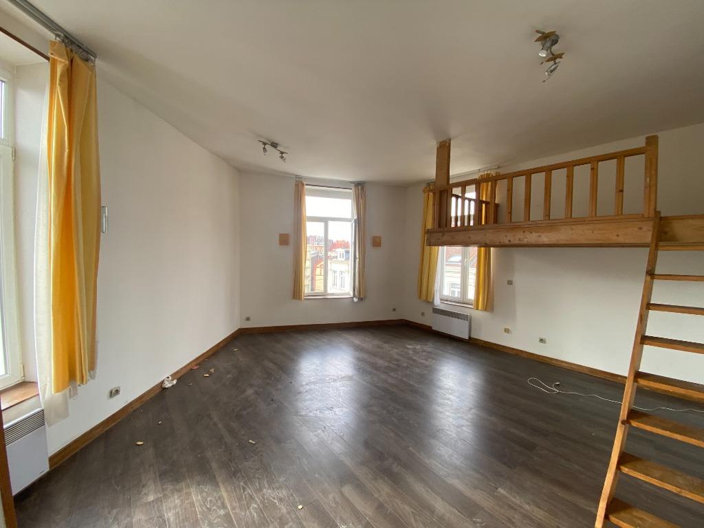 Vente appartement 59000 Lille - Lille Gambetta, Grand studio lumineux