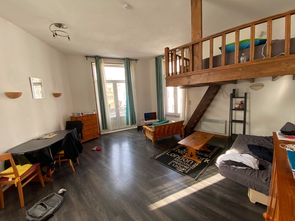 Vente appartement 59000 Lille - Lille Gambetta, grand studio lumineux