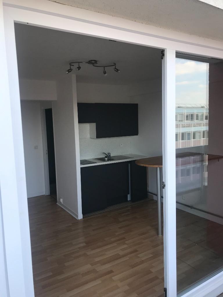 T1 non meublé de 26.25m² - Rue Nationale
