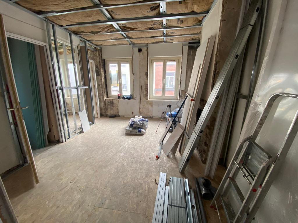 Vente appartement 59000 Lille - F1 bis entièrement rénové