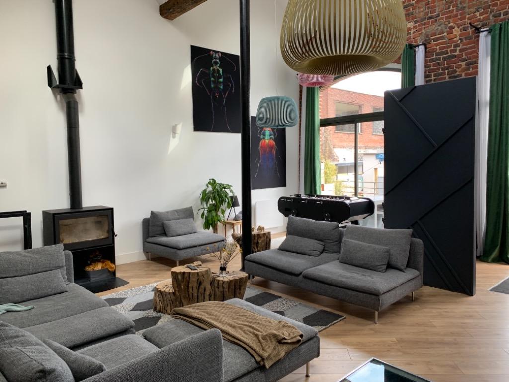 Vente maison - TOURCOING magnifique loft 5 chambres