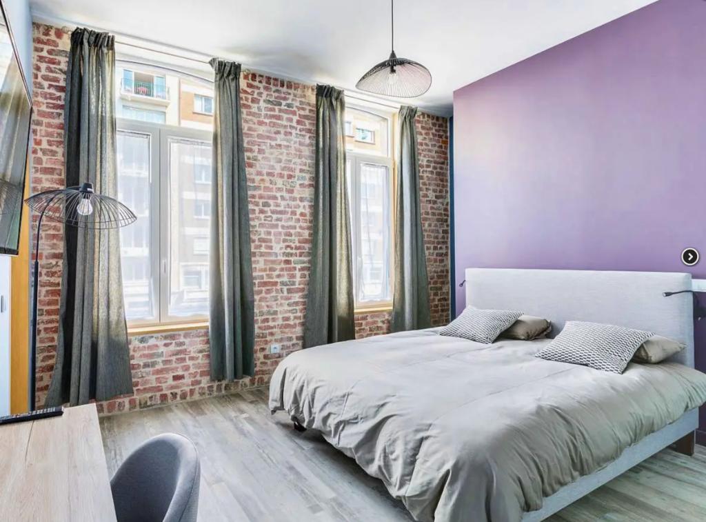 Vente appartement - Lille centre, T1 bis entièrement rénové vendu loué