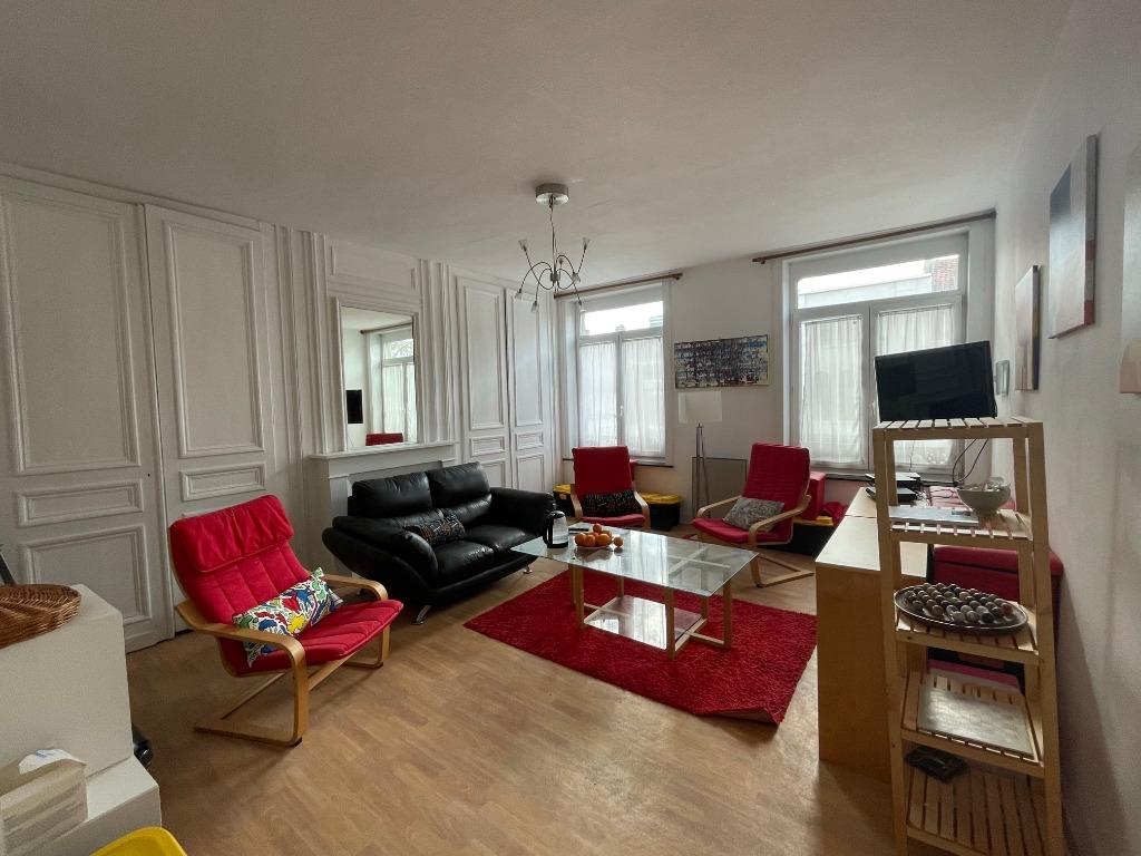 Vente appartement 59000 Lille - Lille rue Nationale - Type 3 très lumineux