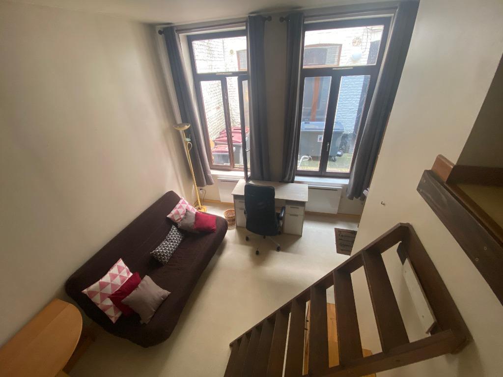 Vente appartement 59000 Lille - Lille Centre - Studio avec Mezzanine