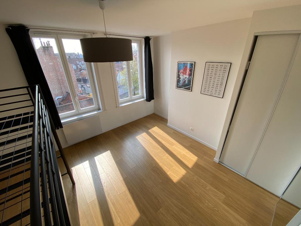Vente appartement 59000 Lille - F1 entièrement rénové