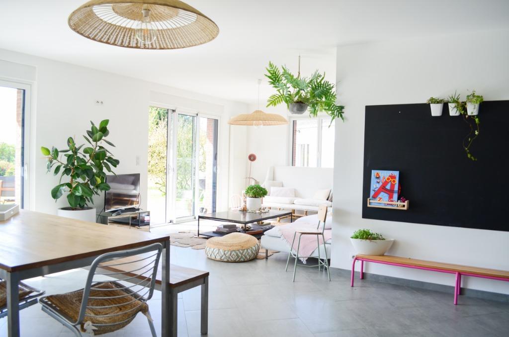 Vente maison - Maison individuelle semi plain-pied - Campagne de Linselles