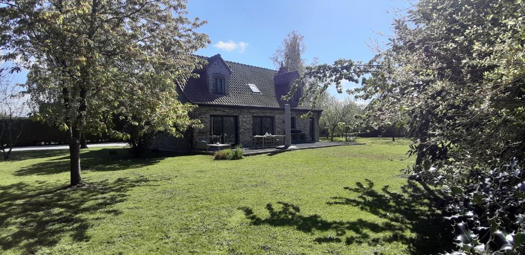 Vente maison 59940 Estaires - ESTAIRES. Superbe Semi PLAIN PIED INDIVIDUEL/2500m² Paysagé.