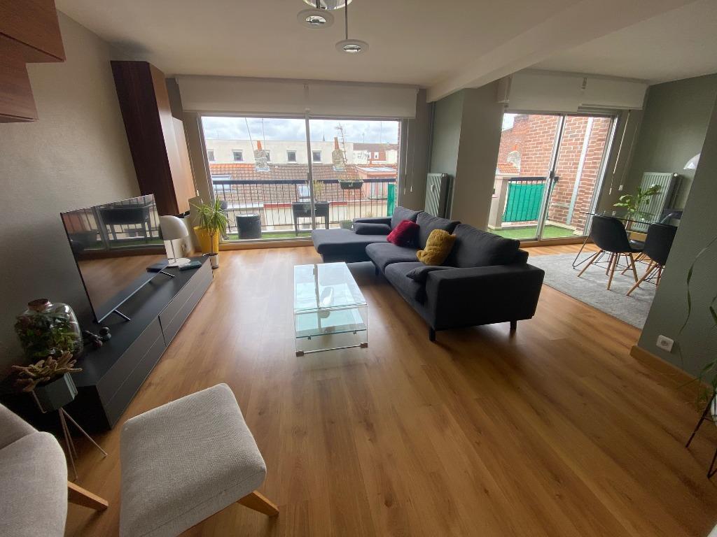 Vente appartement 59000 Lille - Grand T2 avec Terrasse garage et cave