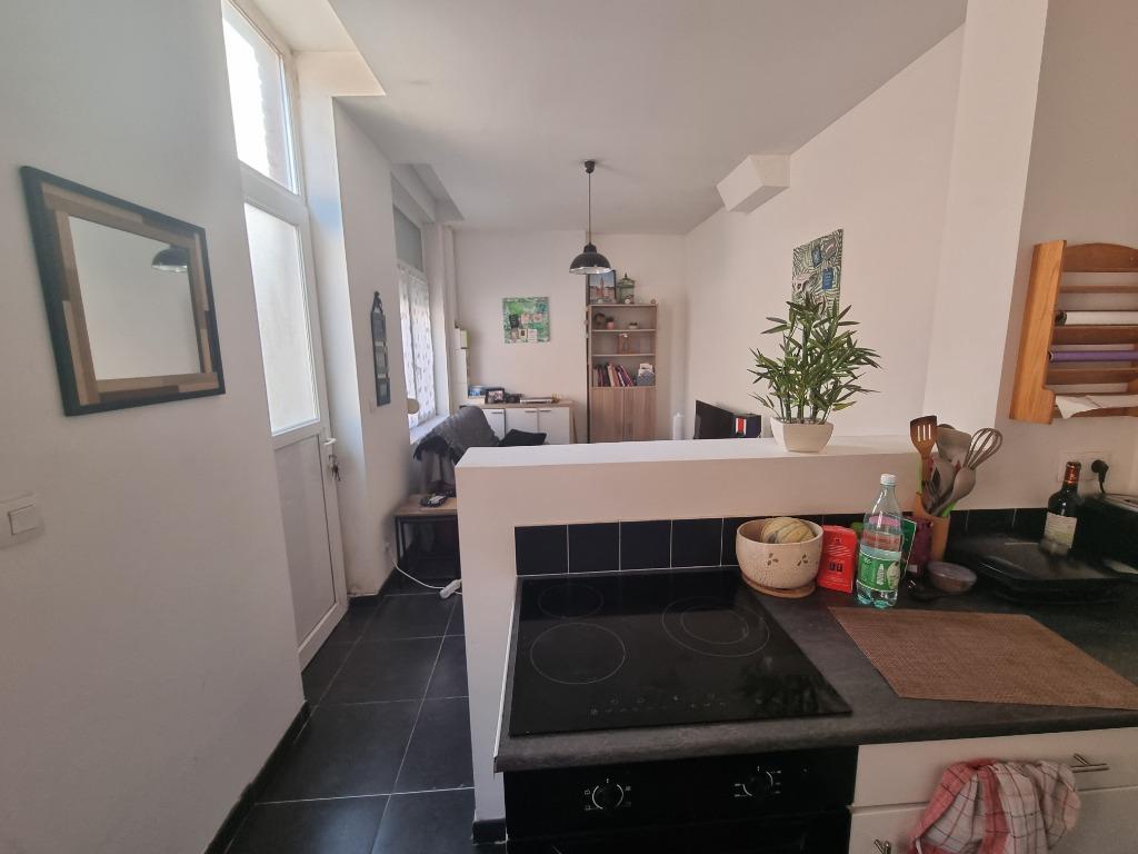 Vente appartement - ROUBAIX - T2 rénové